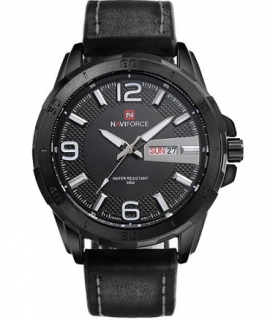 Hodiny NAVIFORCE black