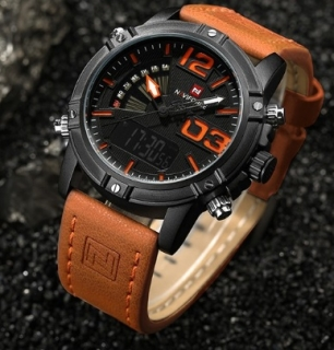 Hodiny NAVIFORCE brown